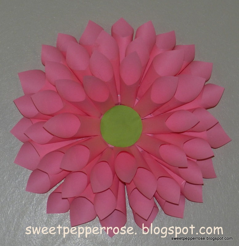 Tip And Tutorial Paper Flower From Cd And Post It Notes