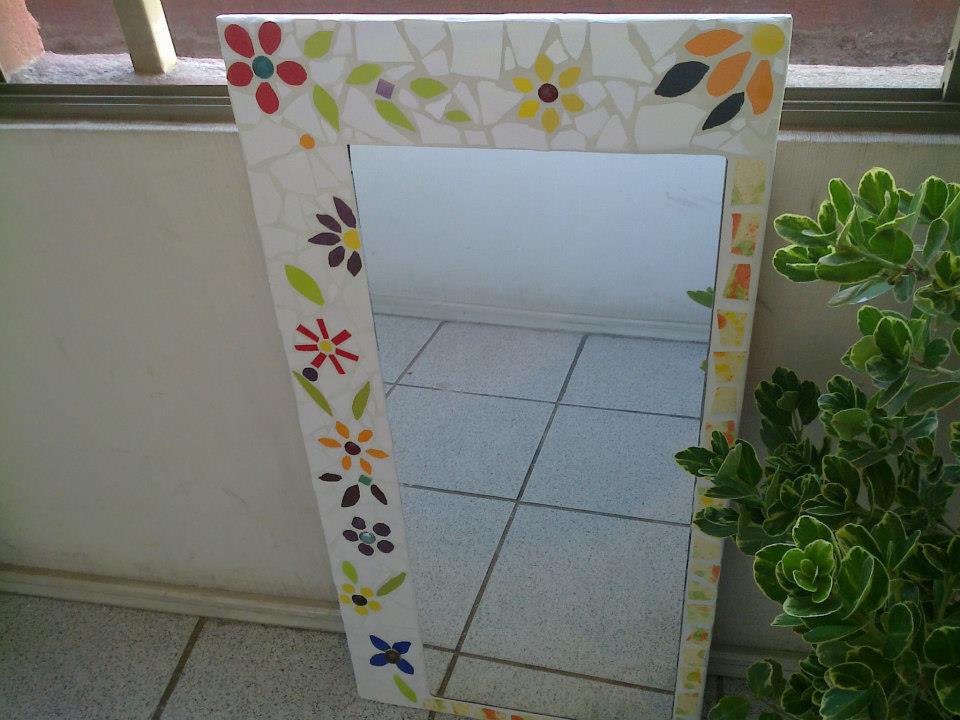 Mosaicos espejos manualidades