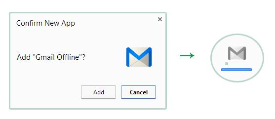 Membuka inbox di gmail secara offline