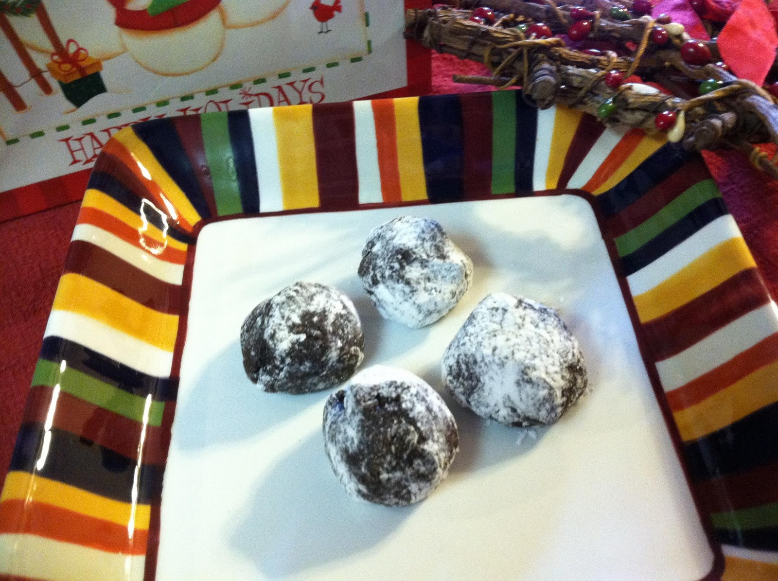 Outside the Lines: Gluten Free No-Bake Rum Balls