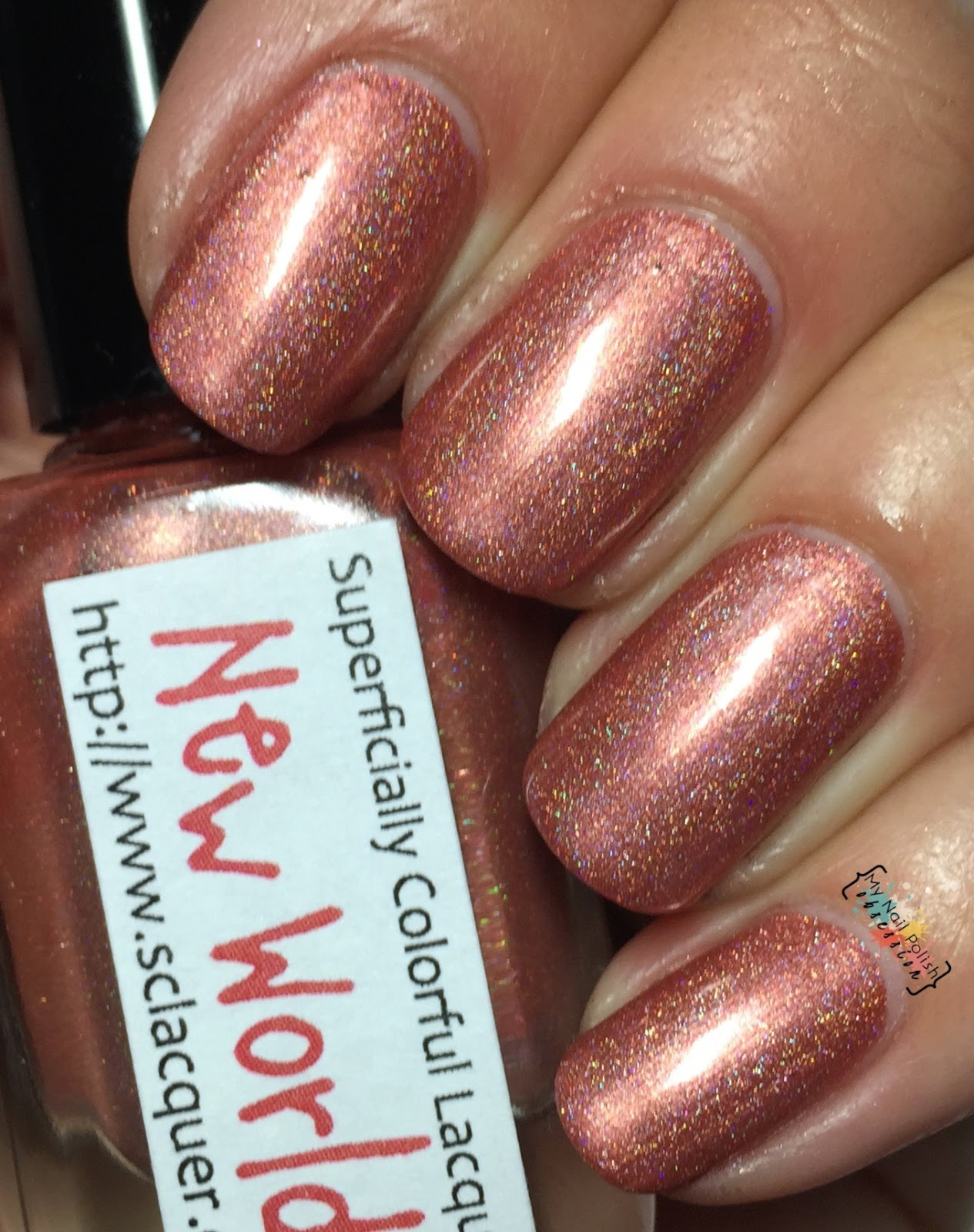 Superficially Colorful Lacquer New World