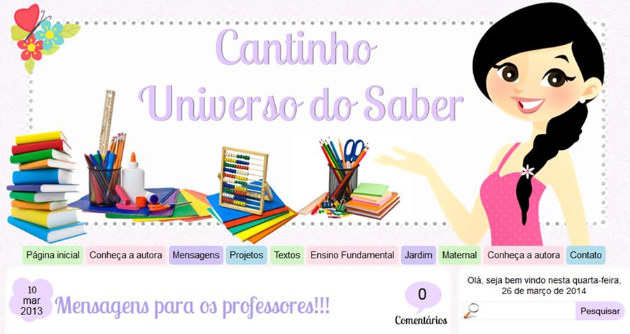 http://cantinhouniversodosaber.blogspot.com.br/