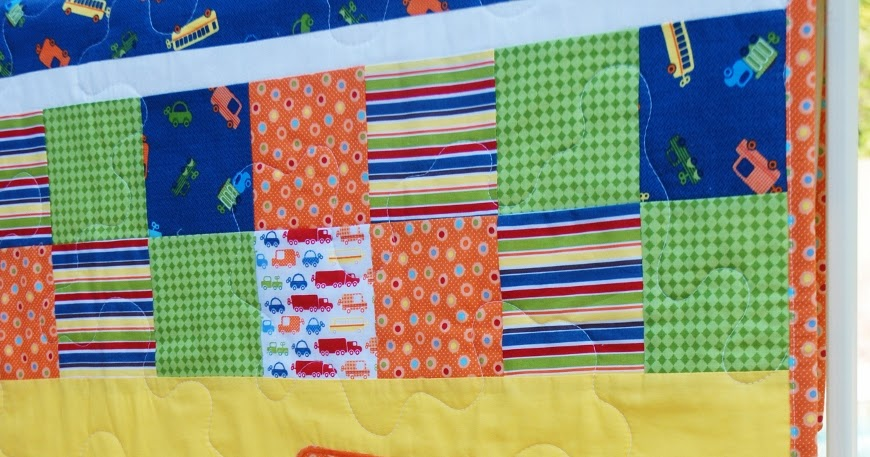 Charley, Dee, & Me: City Streets & Elephant Baby Boy Quilts