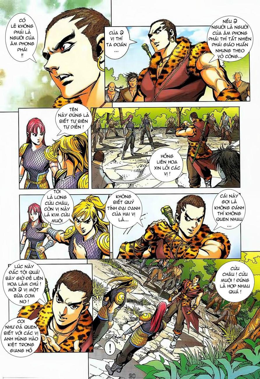 Thần Chưởng Long Cửu Châu chap 8 - Trang 20