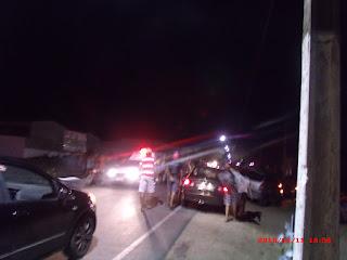 Grave acidente deixa vitima fatal e outra ferida próximo a casa de show em São Vicente do Seridó