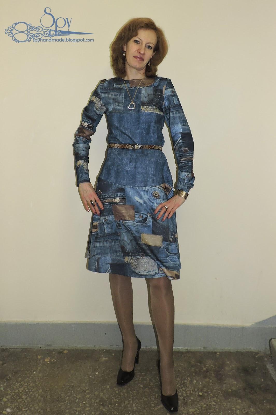Как сшить платье пэчворк