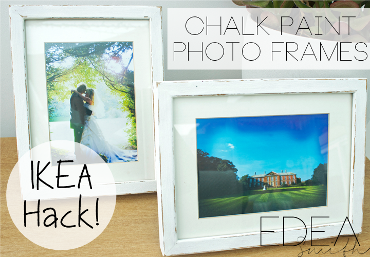 THRIFTY FINDS - IKEA HACK! UPCYCLED PHOTO FRAMES WITH \'DIY\' CHALK ...