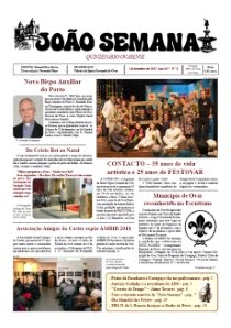 "Jornal ""João Semana"" - 1 DEZ. 2018"