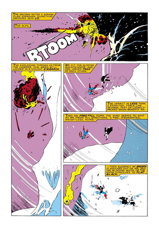 Captain America (1968) Issue #322 #250 - English 10