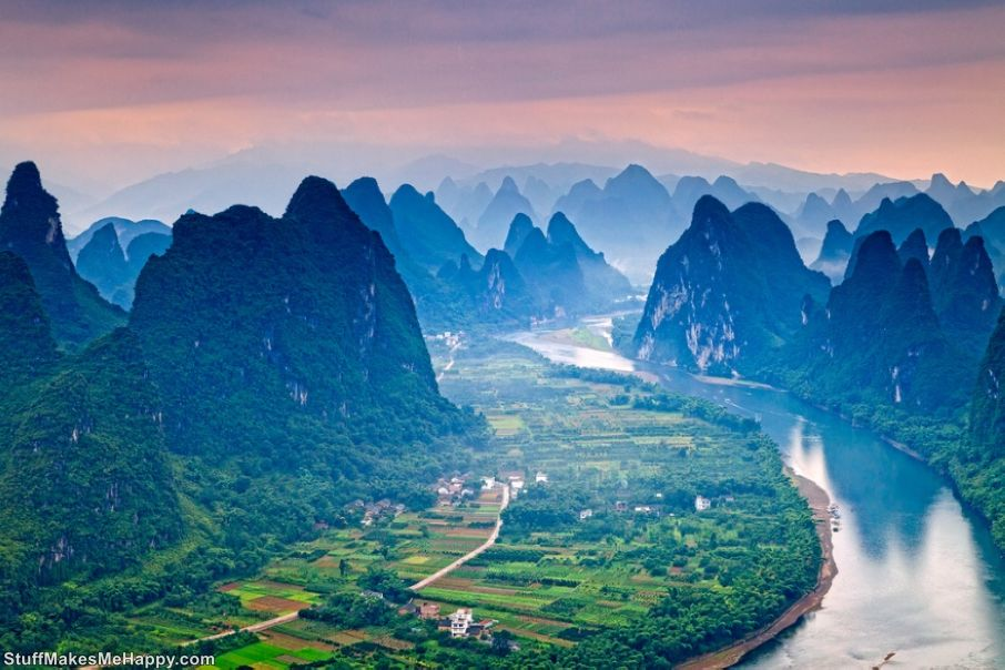 'LI'RIVER, GUANGXI PROVINCE, CHINA