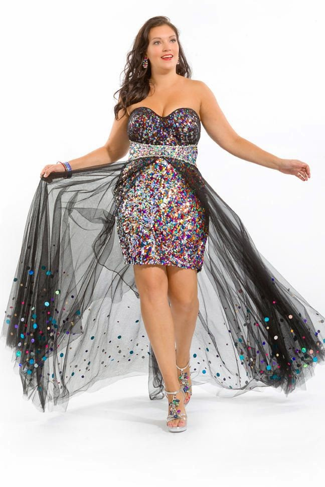 Ultimate Guide For Plus Size Women To Look Fabulous For Prom 2015