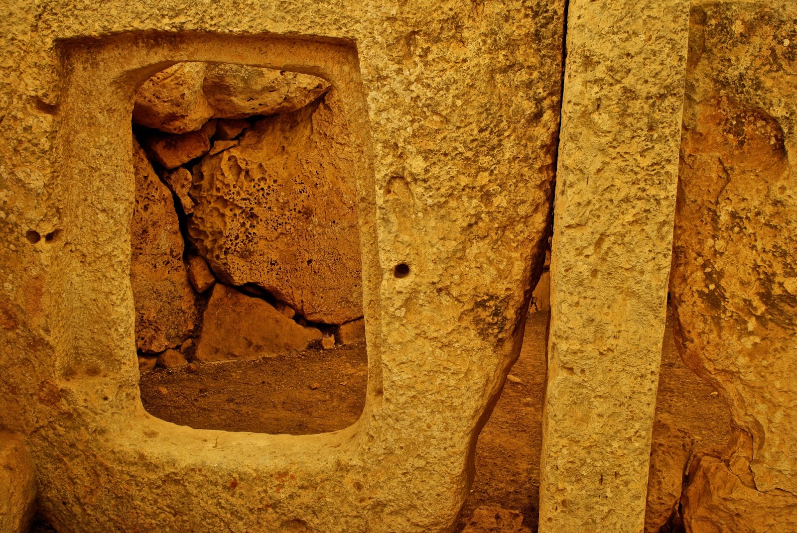 Prehistoric Megalithic Temples of Malta tour : Hagar Qim