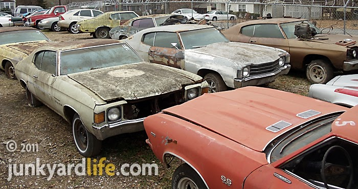 Junkyard Life Classic Cars Muscle Cars Barn Finds Hot Rods And Part News Six Muscle Car Era