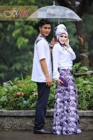 Baju Muslim Couple Family