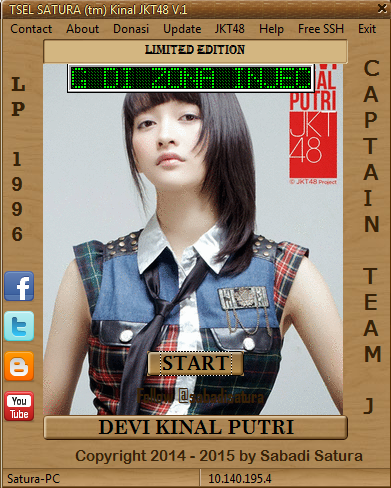 Download Inject TSEL SATURA (tm) Kinal JKT48 V.1 - Work Maret-Juni 2015