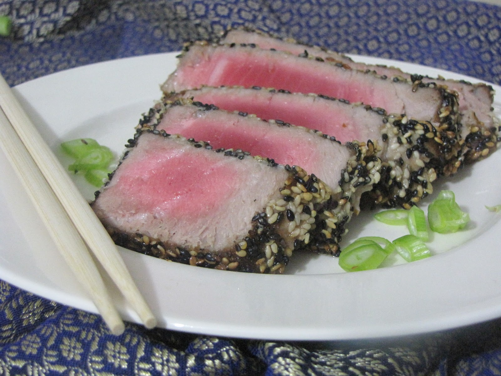 seared tuna with wasabi butter sauce seared tuna with wasabi butter ...
