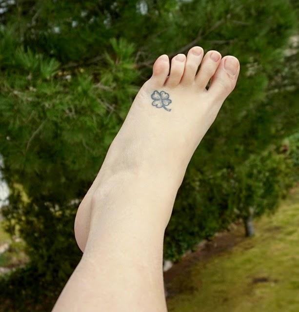 Tatuaje trévol 4 hojas