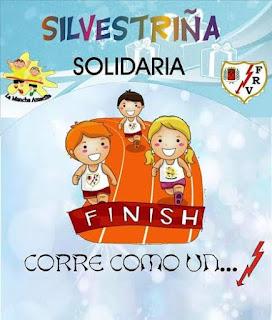 San Silvestre para niños con fines solidarios