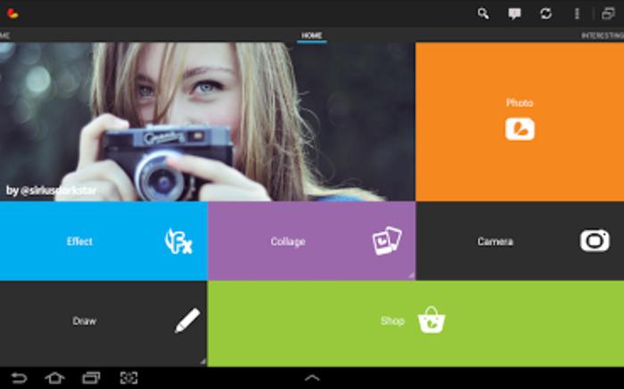 Aplikasi kamera untuk photography