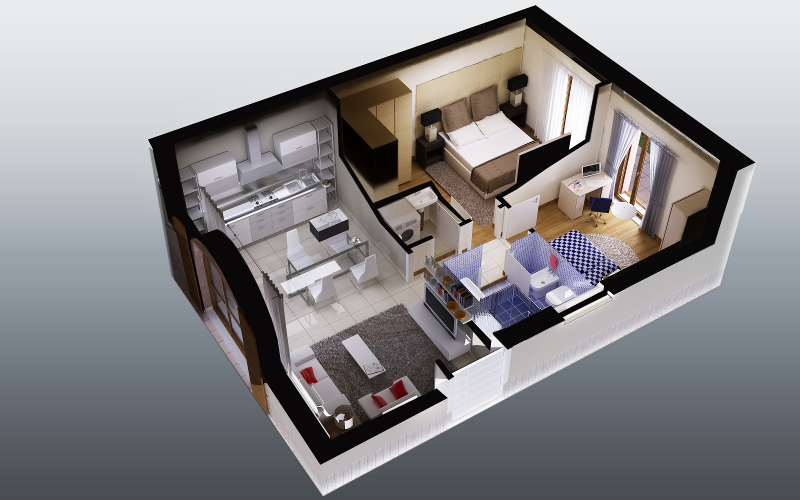 Infocasa metri quadrati catastali anche per le abitazioni for Planimetrie di case personalizzate