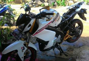 Modifikasi Motor Yamaha Vixion New