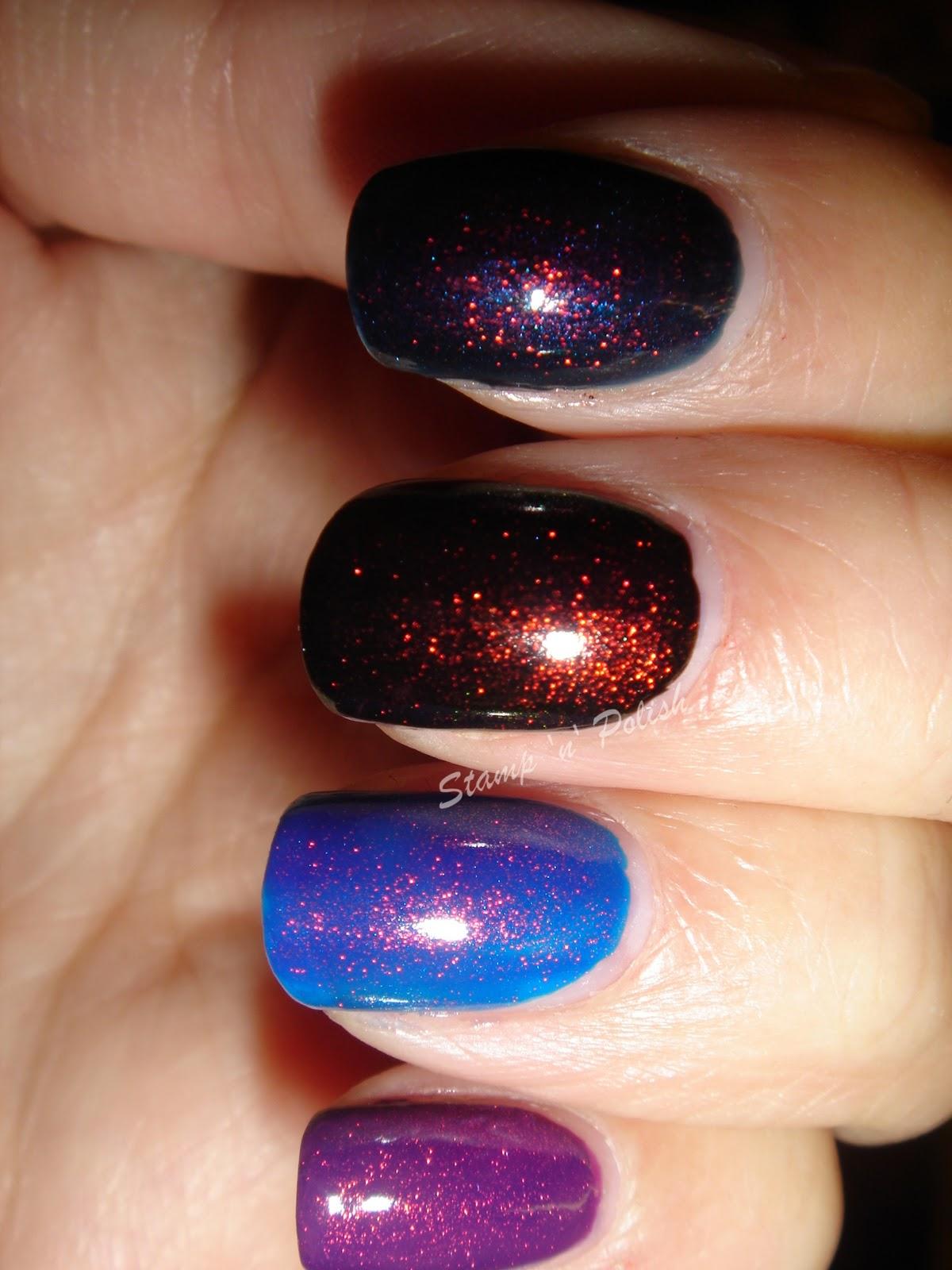 Stamp \'n\' Polish: Max Factor Mini nail polish Fantasy Fire (No 43)