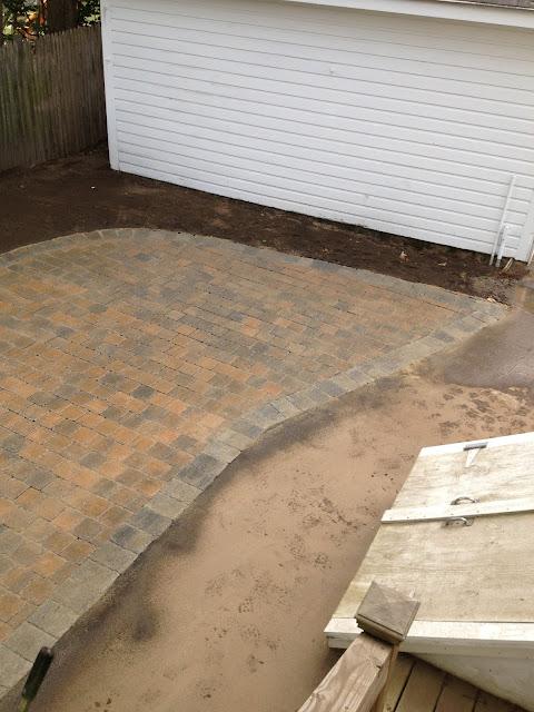 Brick Patio Wakefield MA