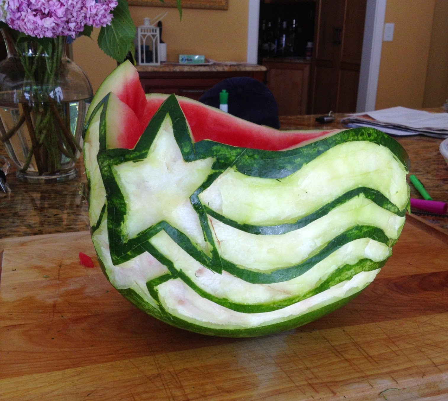 Crafty cre tions th of july watermelon