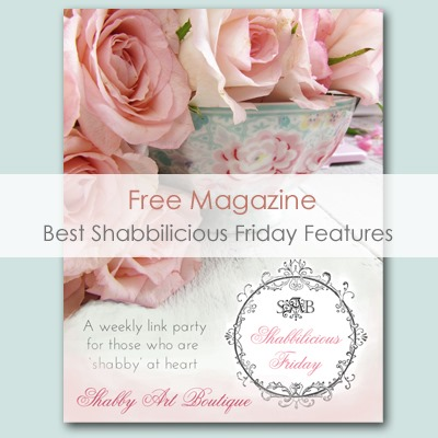 Published In Shabby Art Boutique's Shabbilicious Friday Features