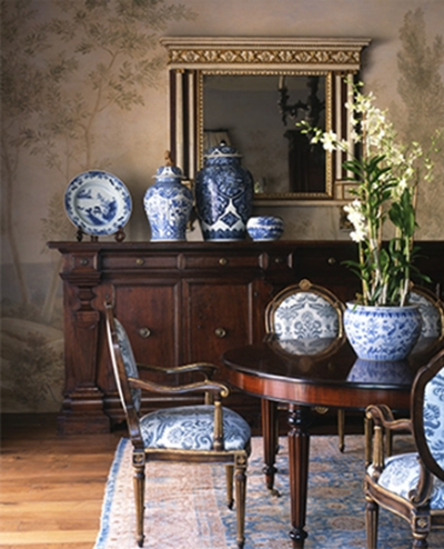 Blue And White Decor Simple Of Decorating with Blue and White Ginger Jars Image