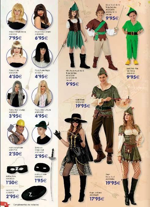 Disfraces Robin Hood 9.95€ Carnaval 2015