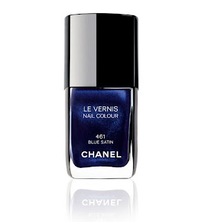 Chanel, Chanel Blue Satin, Chanel nail polish, Chanel nail varnish, Chanel nail lacquer, nail, nails, nail polish, polish, lacquer, nail lacquer, varnish, nail varnish