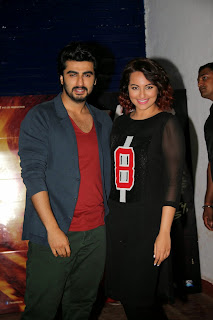 Sonakshi Sinha Latest Pictures with Arjun Kapoor at Tevar Movie Promotion | ~ Bollywood and South Indian Cinema Actress Exclusive Picture Galleries