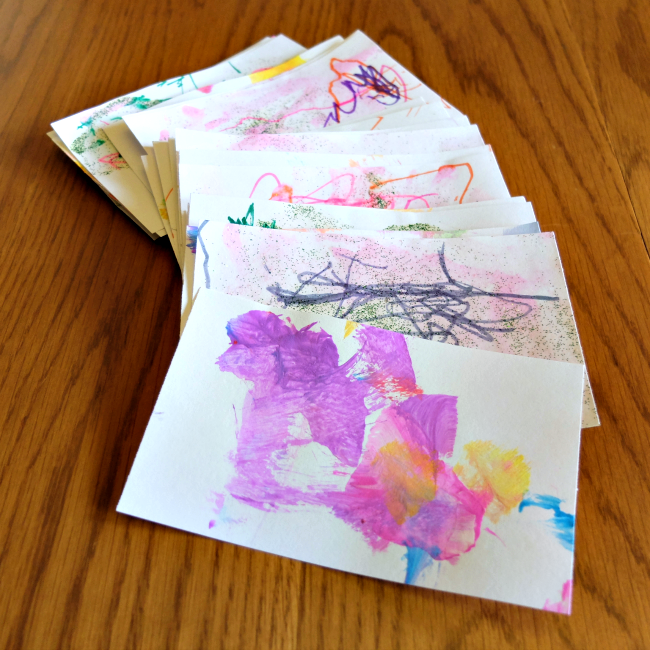 Sweet Turtle Soup - Summer Bucket List: Homemade Postcards