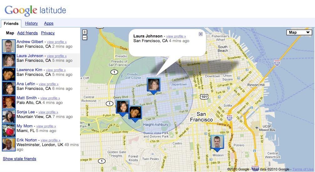 Google earth ile cep telefonu izleme