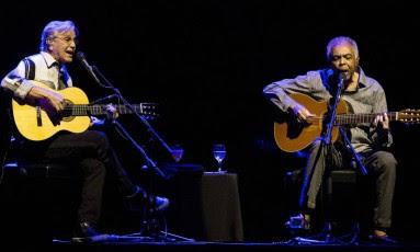 Caetano e Gil tocam em Tel Aviv sem  polêmica