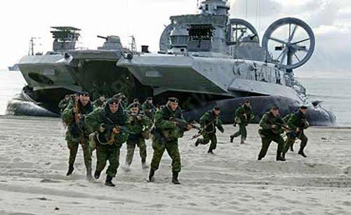 de guerra rusos han entrado en aguas territoriales de Siria , en ...