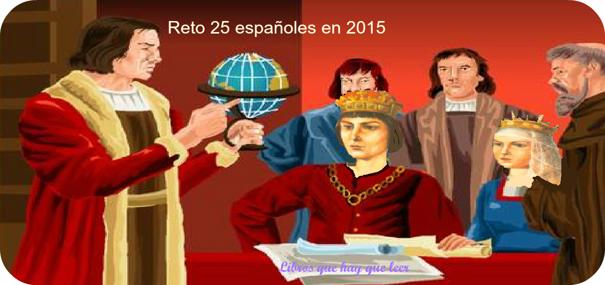 Reto 25 libros españoles 2015