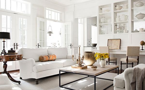 foto warna cat ruang tamu rumah minimalis modern terbaik