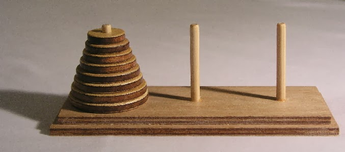 C Program for Tower of Hanoi Problem