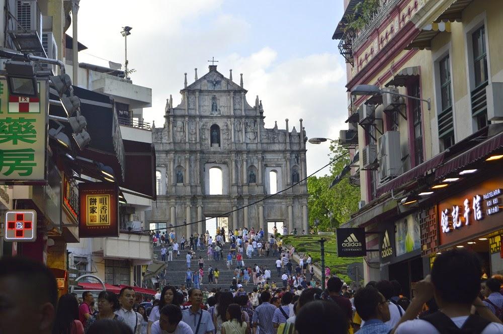 """Ruin's of St.Paul's, Macau"""