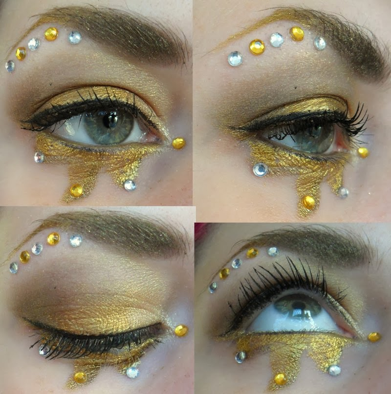 Seven Deadly Sins Greed Makeup
