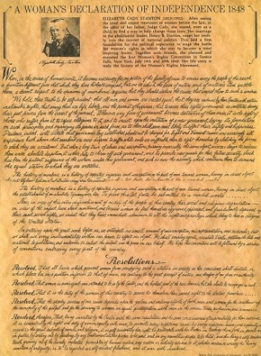 declaration of sentiments and resolutions essay Check out our top free essays on declaration of sentiments and declaration of independence to help you write your own essay.