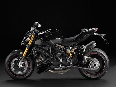 2011 Ducati Streetfighter S Black Color