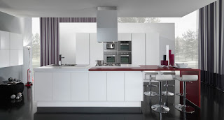 White Luxury Modern Kitchen Design