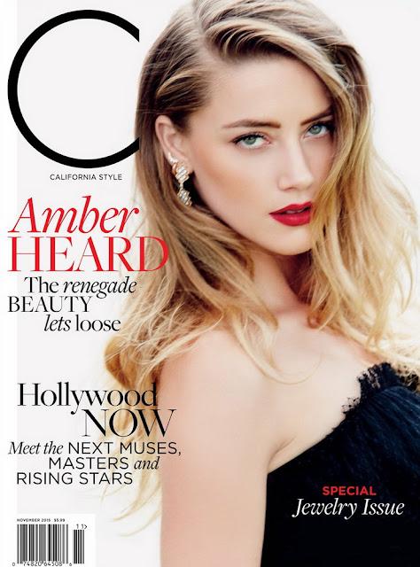 Actress, Model @ Amber Heard - C Magazine November 2015