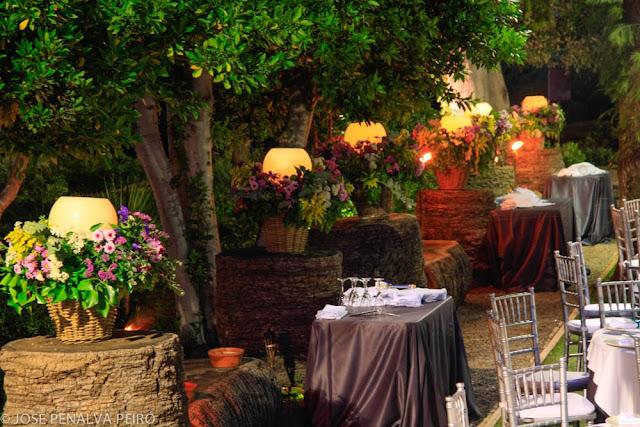 Decoración boda Valencia Jardín Villa Delia Paloma y Angel
