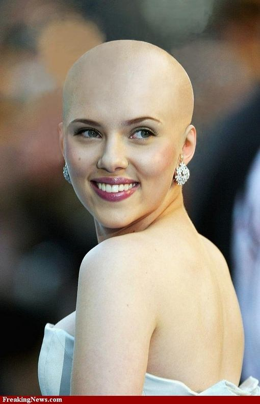 Women Permanently Bald By Choice | Short Hairstyle 2013