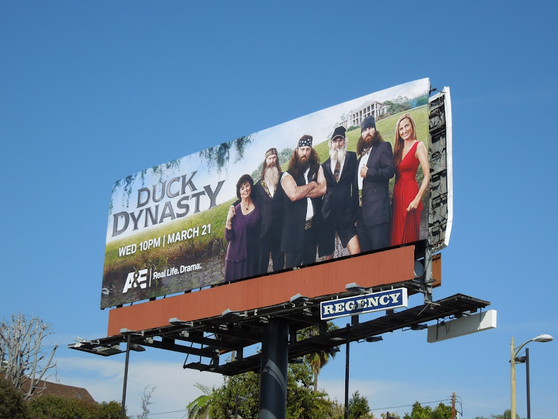 Duck Dynasty billboard