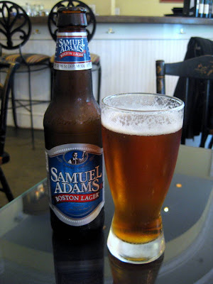 Samuel Adams Boston Lager - Photo by Taste As You Go